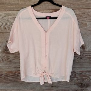 Vince Camuto Peachtree Linen Tuesday Front Top Md